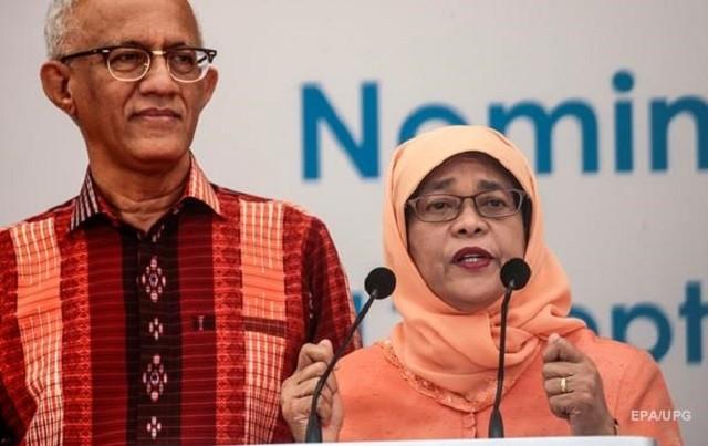 Халима Якуб - первая женщина президент Сингапура