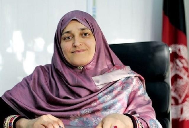 Джамиля Афгани - правозащитница и заместитель министра Труда и Социального развития Афганистана.