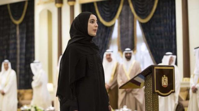 22-летняя Шамма бинт Сухаил Фарис Аль Мазруи  является самым молодым министром в мире.