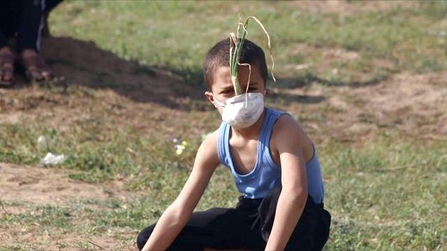 Мальчик, Газа, Палестина