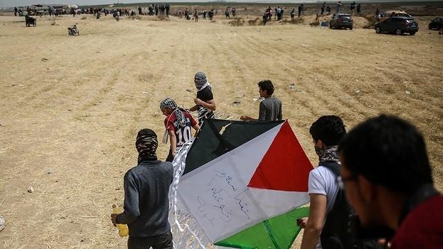Палестина, Газа, Протест, Израиль