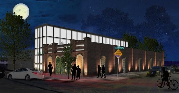Проект мечети Лайтхаус в Окленде (Калифорния) / Источник: MIIM Designs