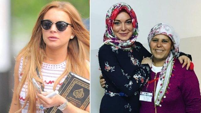 Линдсей Лохан приняла ислама