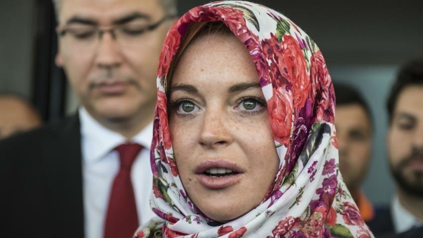 30-летняя актриса и певица Линдсей Лохан оживила слухи о том, что она приняла ислам.