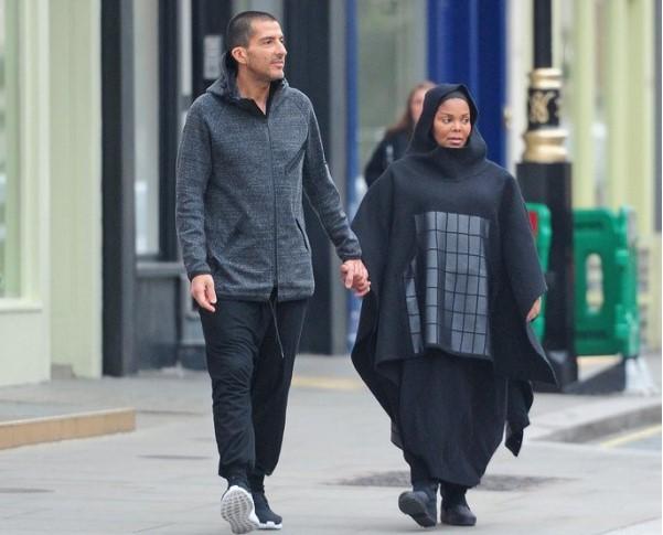 Джанет Джексон с мужем Вассам аль-Маном